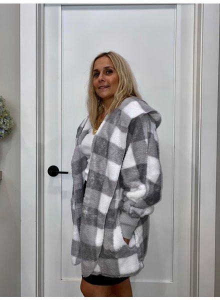 Hem & Thread Checkerboard Bearcoat