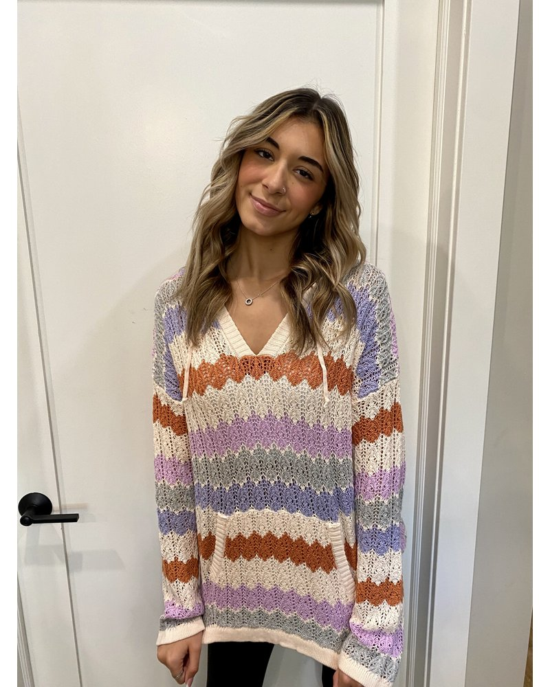 Hem & Thread Cinnamon Sweater