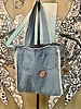 Studio4Threads Custom Tote with Towel/ Material Front