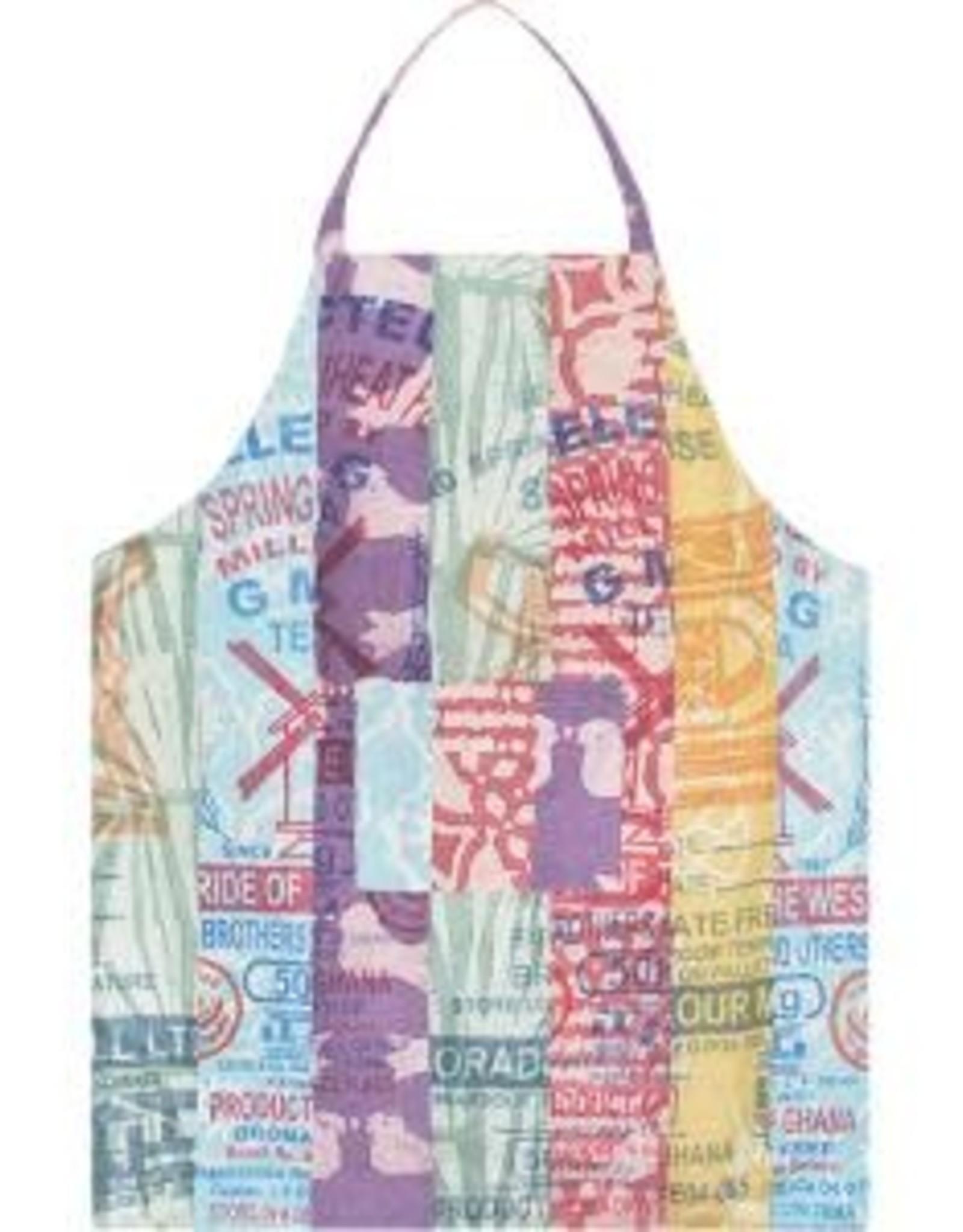 Global Mamas Apron Adult Eco Reversible Flour Sack