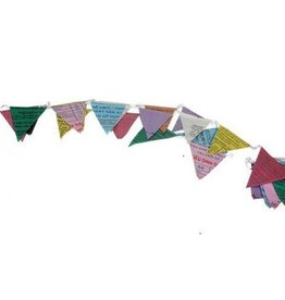 Recycled Banner Multicolor Penant