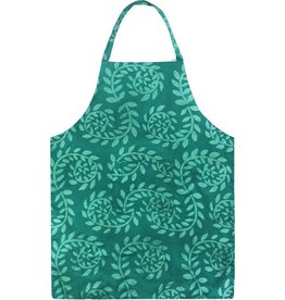 Apron Adult Vines Evergreen