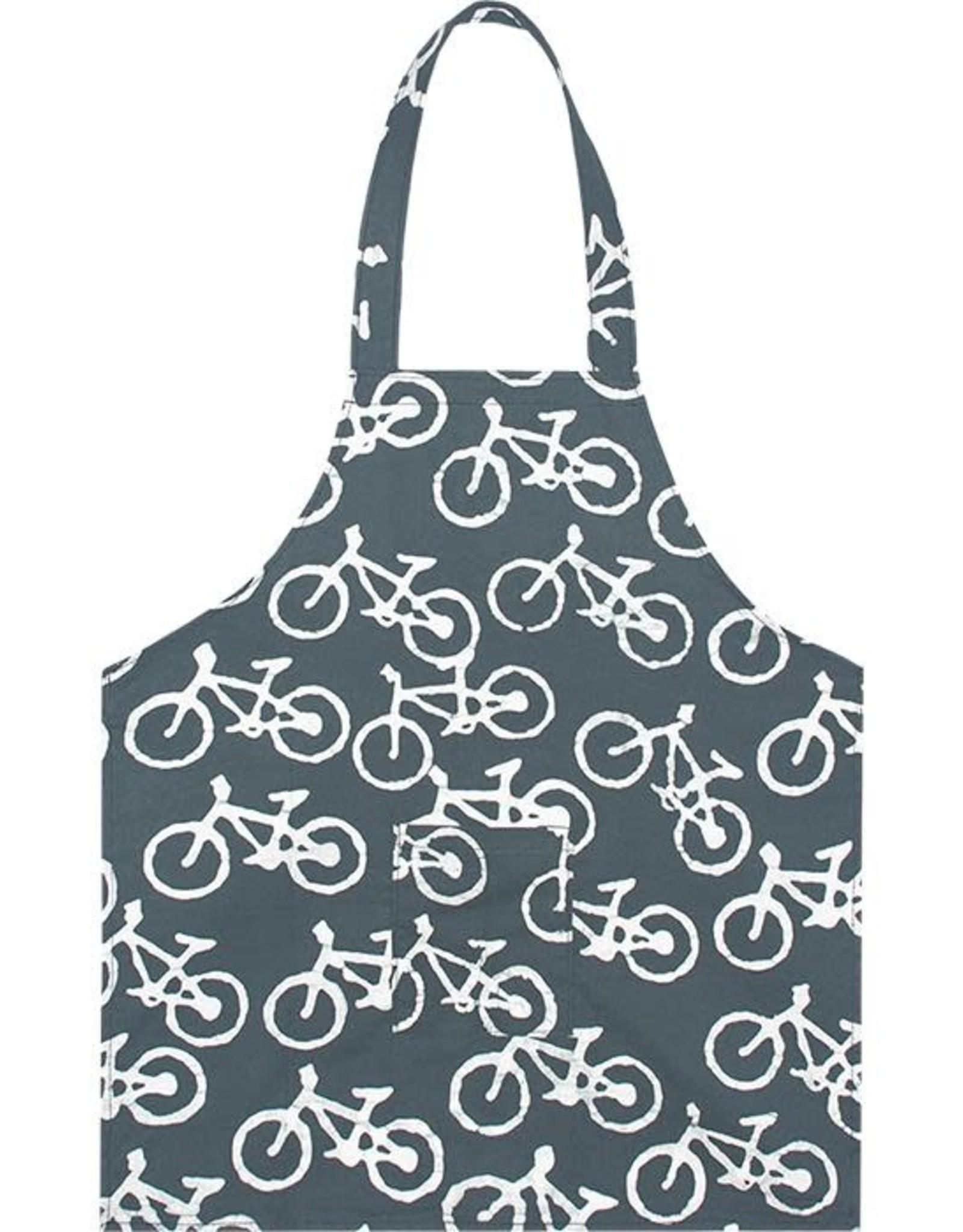 Global Mamas Apron Kids Bikes Charcoal