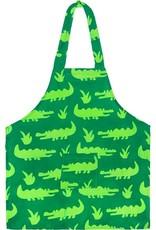 Global Mamas Apron Kids Crocs Lime