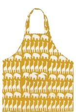 Global Mamas Apron Kids Sahara Mustard