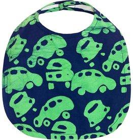 Babies Bib Cars Lime