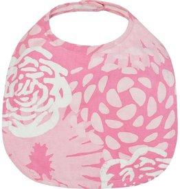 Global Mamas Babies Bib Garden Pink