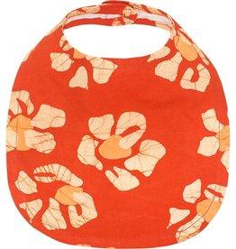 Global Mamas Babies Bib Tropics Tangerine