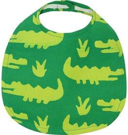 Global Mamas Babies Bib Crocs Lime