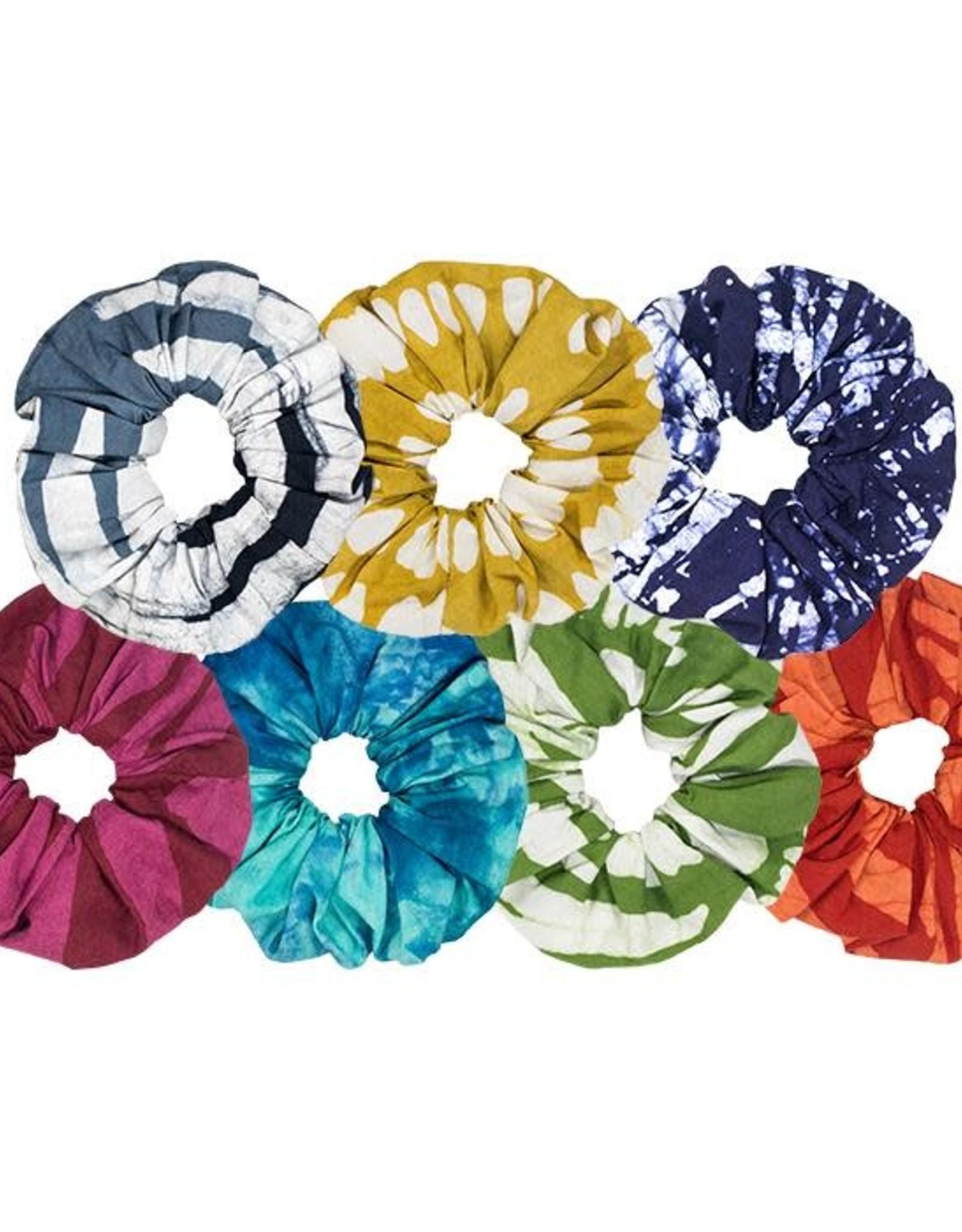 Global Mamas Batik Scrunchie