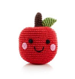 Pebble Apple Rattle Friendly Fruit