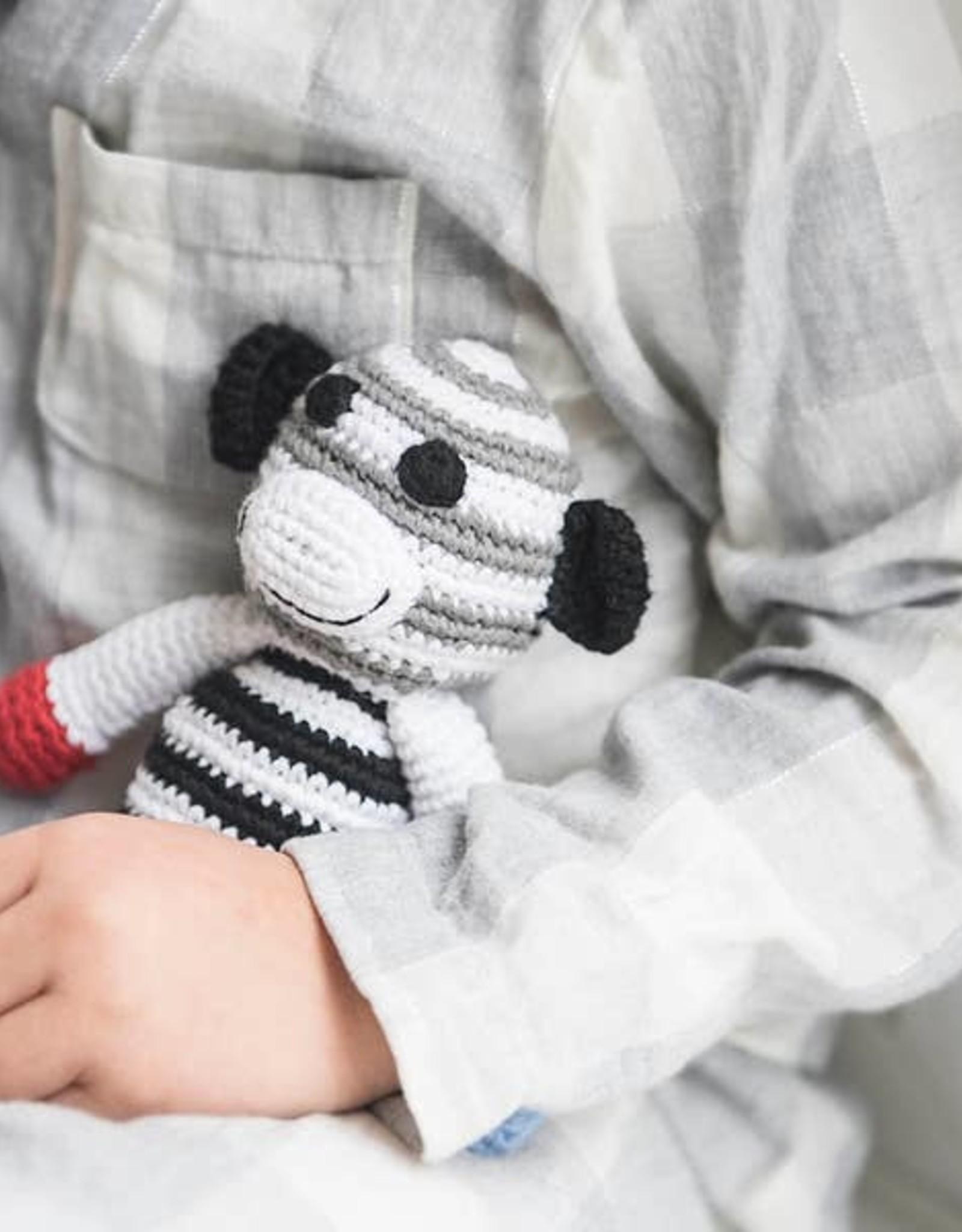 Black and White Rattle Monkey