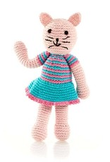 Cat Rattle Pink