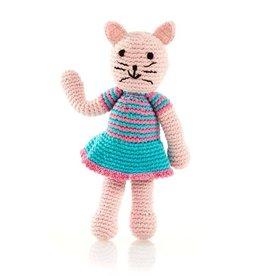 Pebble Cat Rattle Pink