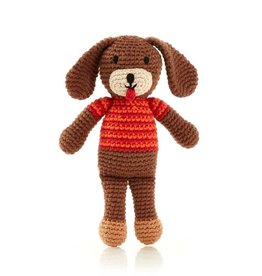 Dog Rattle Brown