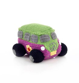 Pebble Mulberry Peace Campervan Rattle