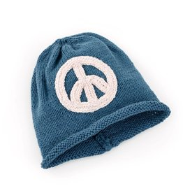 Peace Hat - Blue