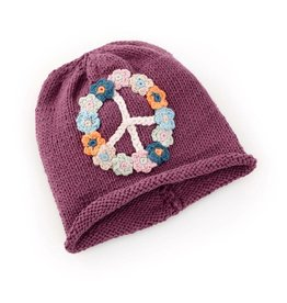 Peace Hat - Purple Adult