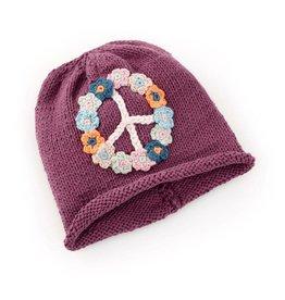 Pebble Peace Hat - Purple Child