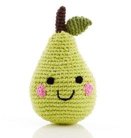 Pebble Pear Rattle - Friendly Fruit