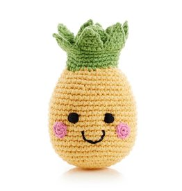 Pebble Pineapple Rattle - Friendly Fruit
