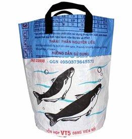 Malia Designs Recycled Round Laundry Bin