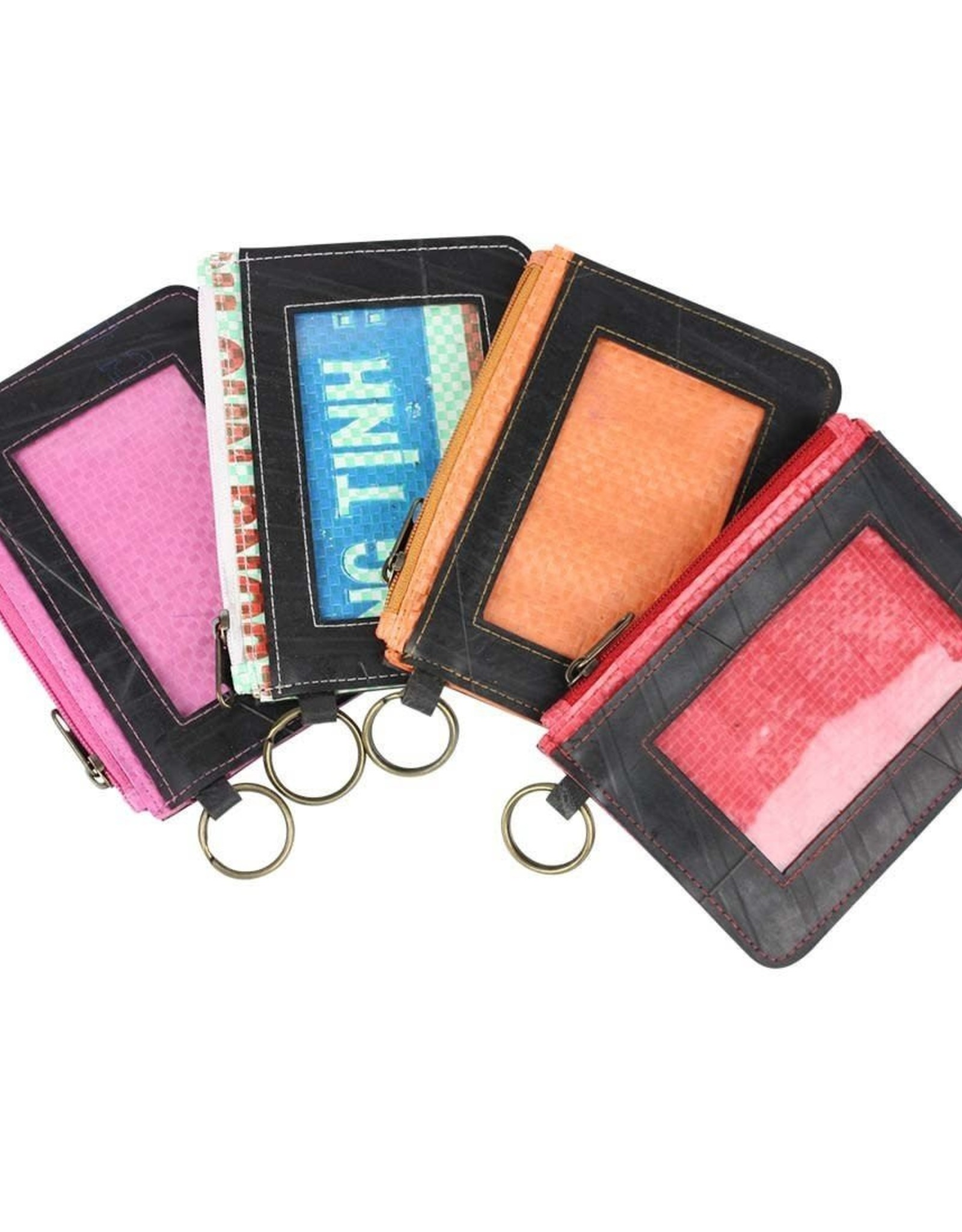 Recycled Tire ID Holders