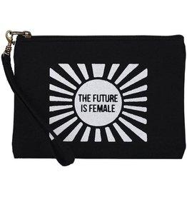 Malia Designs Statement Pouch Future is Female