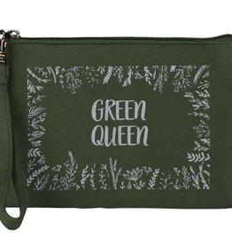Malia Designs Statement Pouch Green Queen