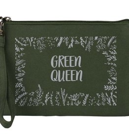 Statement Pouch Green Queen