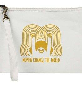 Malia Designs Statement Pouch World Changer