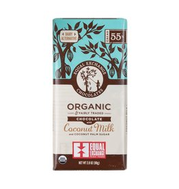 Organic Chocolate Bar with Coconut Milk