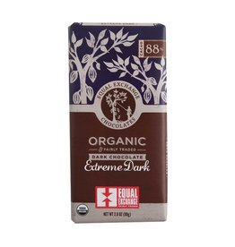 Equal Exchange Organic Extreme Dark Chocolate (88%)