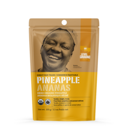 Organic Dried Pineapple