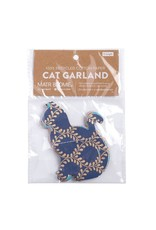 Metallic Cat Cotton Garland