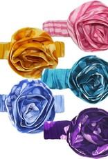 Global Mamas Babies Batik Headband Purple