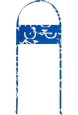 Bikes Blue Batik Face Mask - Youth