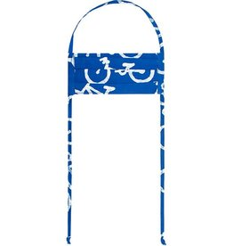 Global Mamas Bikes Blue Batik Face Mask - Youth
