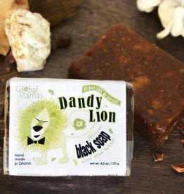 Global Mamas Dandy Lion Black Shea Soap