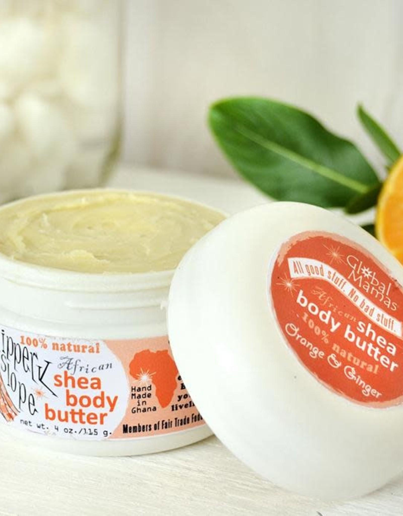 Ginger Orange Slippery Slope Shea Butter