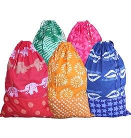 Global Mamas Home Laundry Bag  Gold