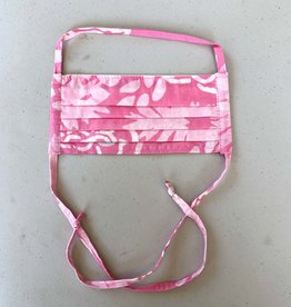 Pink Batik Face Mask - Adult