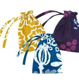 """Global Mamas Reusable Gift Bag Large 7""""H x 5""""W"""