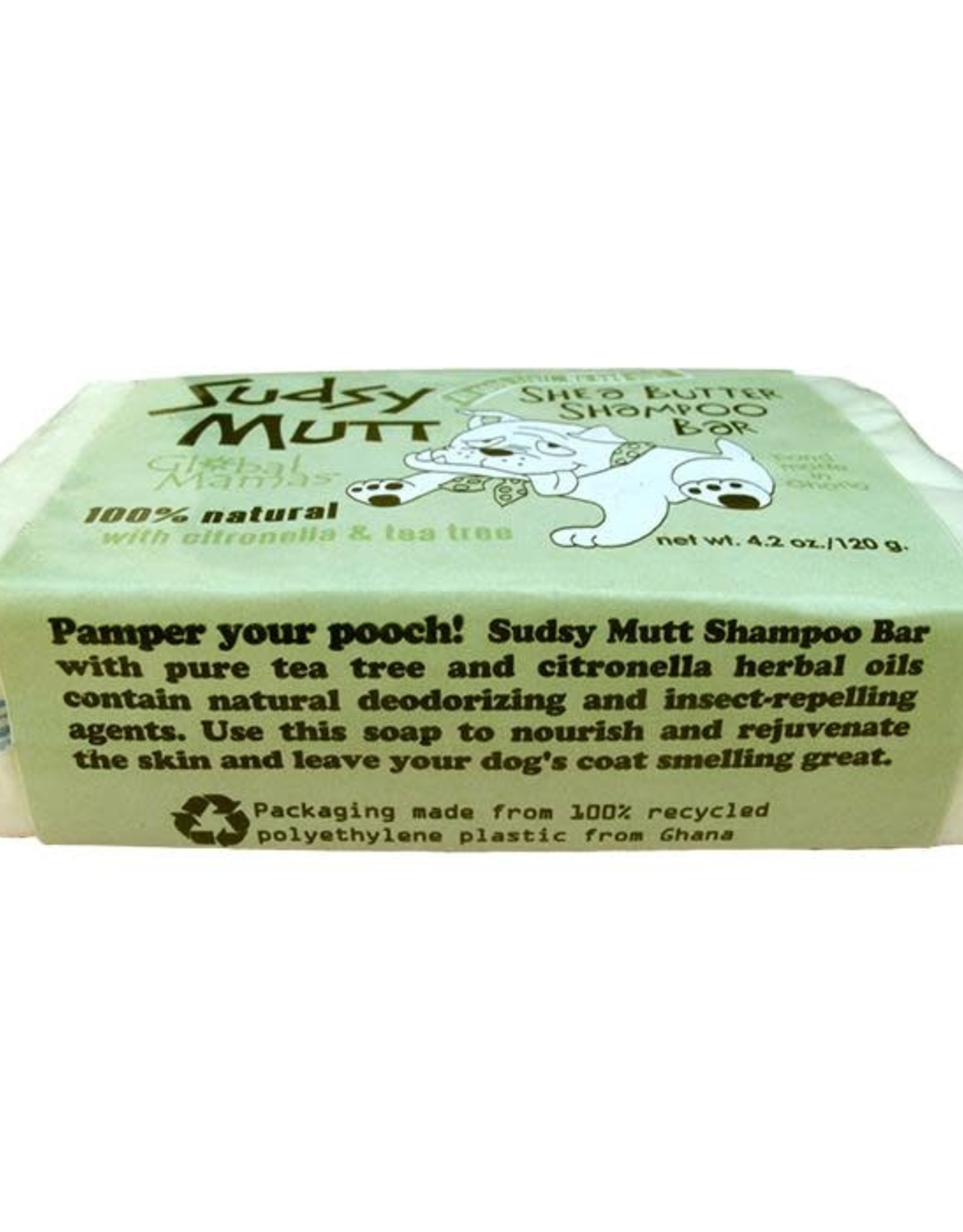 Sudsy Mutt Shea Butter Shampoo Bar