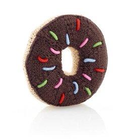 Donut Rattle Chocolate