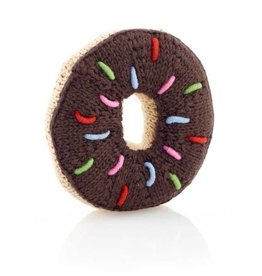 Pebble Donut Rattle Chocolate
