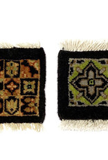 Mug Rug Black Assorted Designs