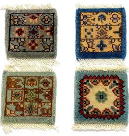 Mug Rug Blue Assorted Designs