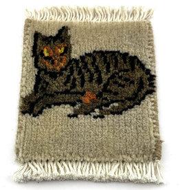 Mug Rug Cat Lying Down
