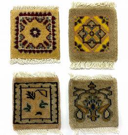 Bunyaad Pakistan Mug Rug  Cream/Tan  Assorted Designs